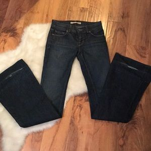 J Brand Bell Bottom Denim Jeans size 25